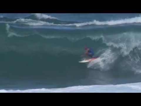 Kelly Slater Surfing Barbados January 2013