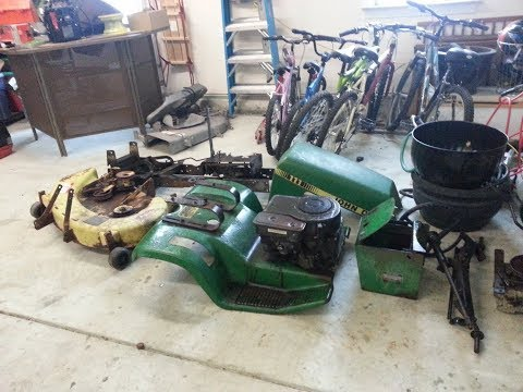 Parting Out the John Deere 111