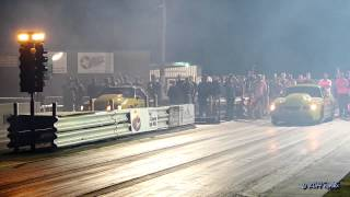 Street Outlaws BoostedGT VS Just Cody   Boosted first race in new Nanner 2.0