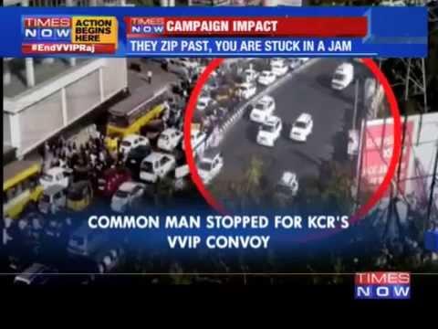 Common man stopped for Chandrababu Naidu's VVIP convoy
