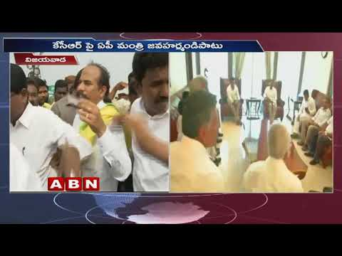 Tulasi Reddy controversial comments on KTR, Jagan Meet | ABN Telugu