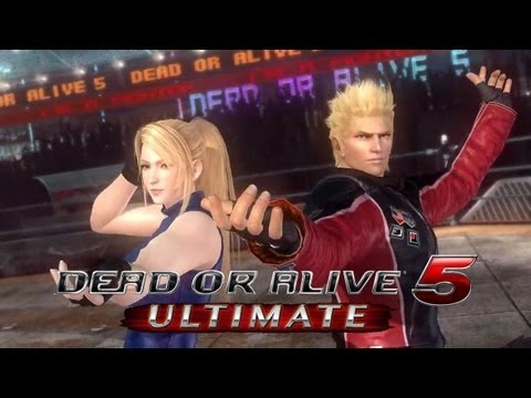 Dead or Alive 5 Ultimate 'Ein & Jacky Reveal Trailer' TRUE-HD QUALITY