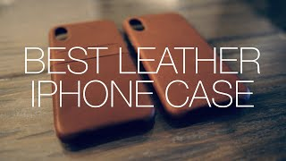 Best Leather iPhone X/XS Cases! Sena Bence LeatherSkin & Deen Snap On Wallet  [Review & Unboxing]