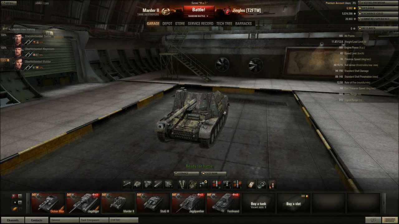 world of tanks marder ii tier 3 tank destroyer alive and kicking youtube. Black Bedroom Furniture Sets. Home Design Ideas