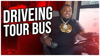 OMI IN A HELLCAT FINALLY DRIVES HIS TOUR BUS  #VLOG 37