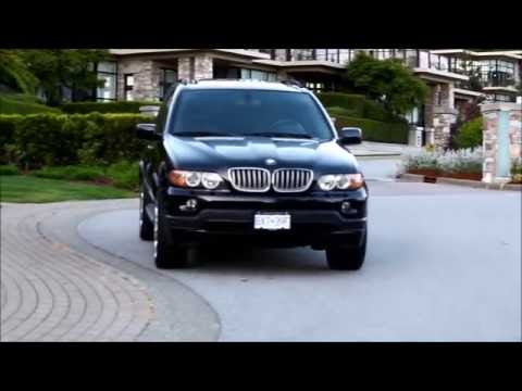 2006 BMW X5 4.8is Start Up, Revs, Acceleration