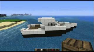 Minecraft Tutorial - FishingBoat