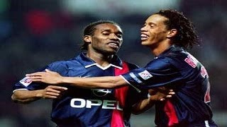 Jay Jay Okocha & Ronaldinho vs Nantes (6 April 2002)