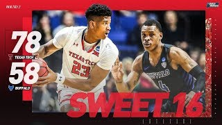 Texas Tech vs. Buffalo: Second round NCAA tournament extended highlights