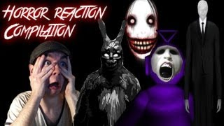 Horror Game Reaction Compilation | A Collection of the Biggest and Best Scares | Funny Subtitles