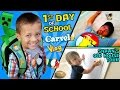CHASE'S 1st Day of SCHOOL! + Shawn's Old House Tour w/ Carvel...