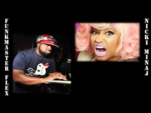 Nicki Minaj and Funk Flex's phone call on Hot 97's Summer Jam 2012 no show Part 1