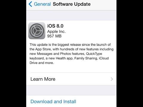 iOS 8: First impressions