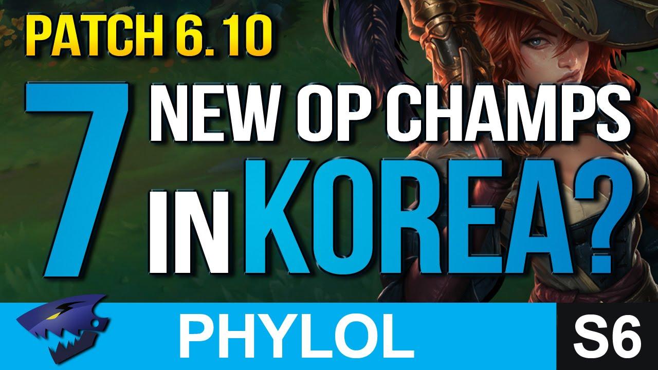 7 NEW KOREAN OP PICKS SO FAR IN Patch 6.10 - Builds & Masteries etc (League of Legends)