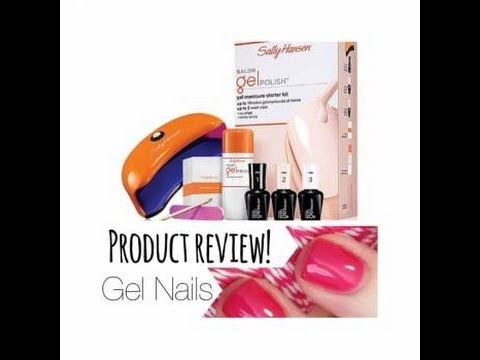 Sally Hansen Gel Nails   Product Review