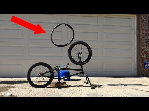 How To Replace A BMX Tube/Tire +Clips