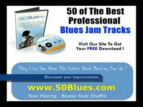 50 Blues Backing Tracks  Professional Blues Guitar