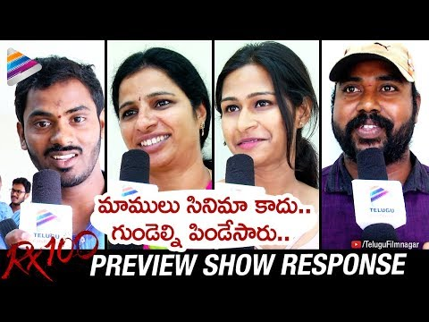 RX 100 Preview Show Response | Kartikeya | Payal Rajput | #RX100 Telugu Movie | Telugu FilmNagar