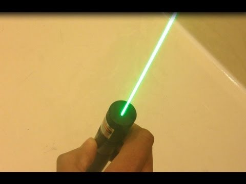 Green Burning Ebay Laser!