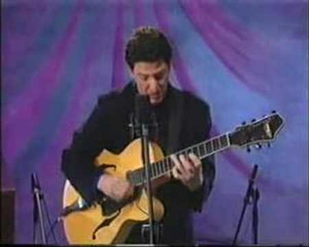 John Pizzarelli Trio - After You've Gone Video