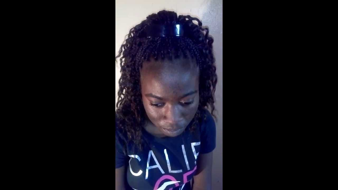 Crochet Box Braids With Kanekalon Hair : CROCHET/BOX BRAIDS WITH 100%KANEKALON HAIR - YouTube