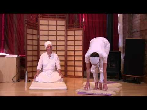 Sun Salutation Yoga Exercise