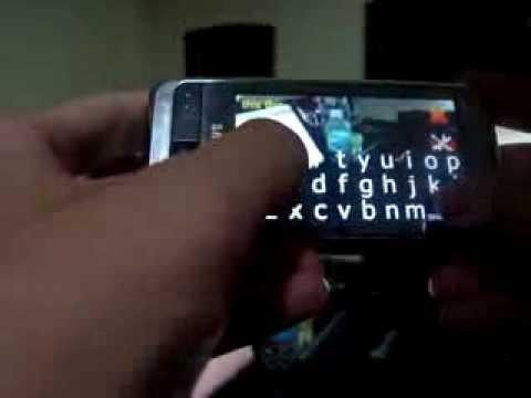 Transparent SMS on Omnia i900