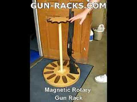 Rotating Gun Rack Plans http://wn.com/rifle_rack