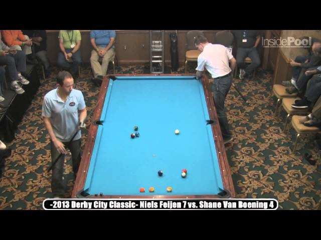 Shane Van Boening vs Niels Feijen Bigfoot 10-Ball 2013 Derby City Classic