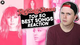 Reacting to Rolling Stone's Top 50 Songs of 2018