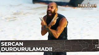 Sercan Dokunulmazlıkları Sildi Süpürdü!   Survivor Panorama 119.Bölüm