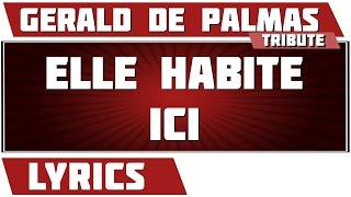 Watch Gerald De Palmas Elle Habite Ici video