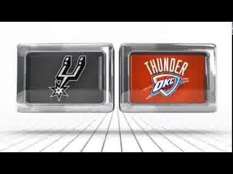 San Antonio Spurs vs Oklahoma City Thunder - March 26, 2016
