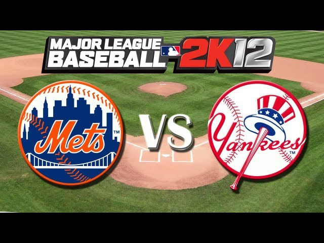 MLB 2K12: Subway Series: New York Mets vs New York Yankees - Viewer Request