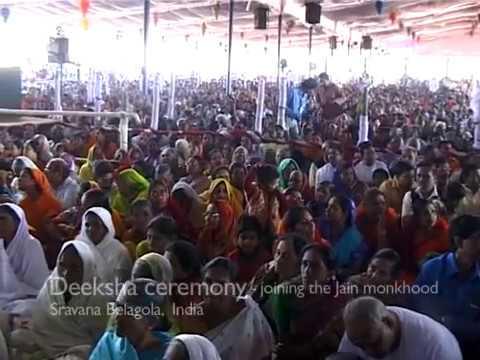 Jeremy Hunter - Deeksha ceremony - joining the Jain monkhood...