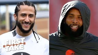 What does Colin Kaepernick's video with Odell Beckham Jr. mean? | First Take