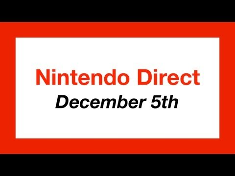 3DS News - Nintendo Direct (December 5th)