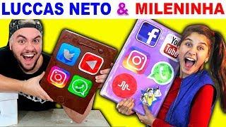 LUCCAS NETO & MILENINHA - TBT