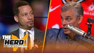 Klay Thompson would be my pick to play with LeBron and AD — Chris Broussard | NBA | THE HERD