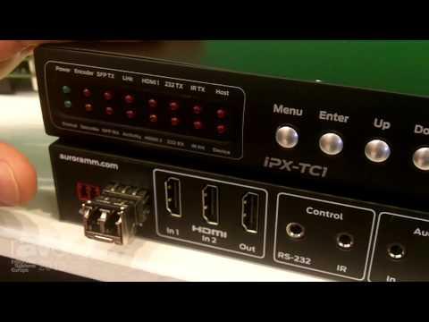ISE 2015: Aurora Multi-Media Shows Off the New iPX-TC1-RK1