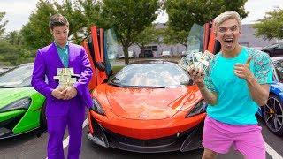 SURPRISE 24 HOUR SHOPPING SPREE WITH $1 MILLION UNBREAKABLE BOX PRIZE MONEY!!