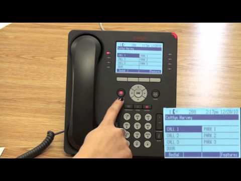 Key Buttons And Features Of Avaya 9608 Telephone