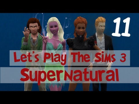 Let's Play: The Sims 3 Supernatural - (Part 11) - Love and Magic