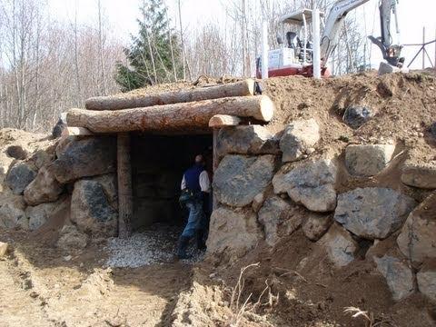 Sepp Holzer Root Cellar Underground Animal Shelter Youtube