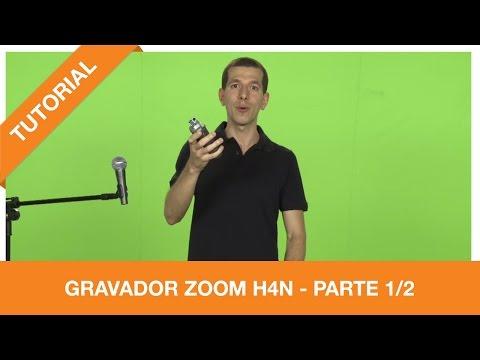 Tutoriais Foco Filmes - Gravador ZOOM H4n - parte 1/2