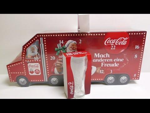 Big Coca Cola Truck Advent Calendar Unboxing