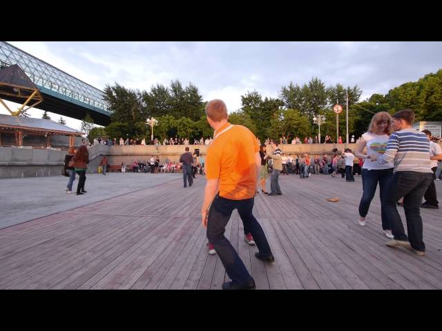 Open air Salsa in Moscow 2 (May 29th 2013)