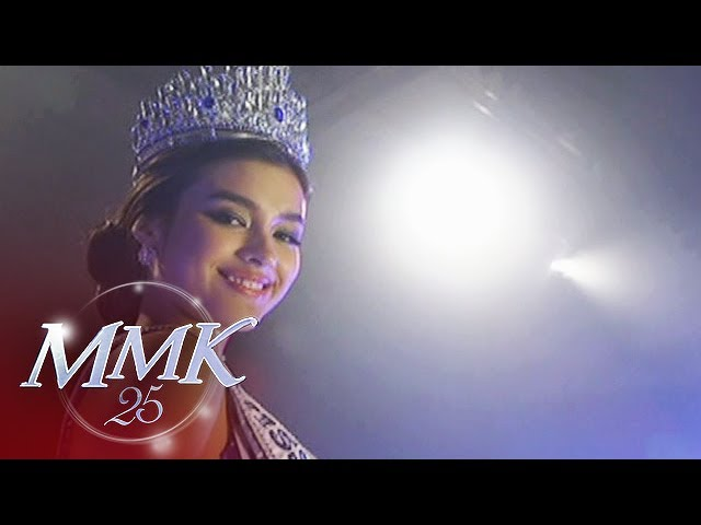 MMK: Pia Wurtzbach is crowned as Ms. Universe Philippines 2015.