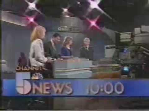 WMAQ: Channel 5 10 O'Clock News Open--1988