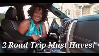 My 2 Road Trip Must Haves!~SoJoy Travel Blanket & Neck Pillow (#IAmACreator)